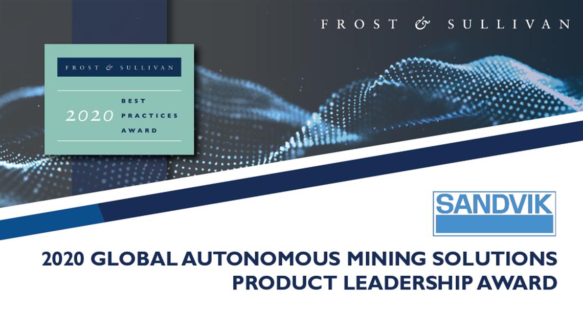 Frost & Sullivan 2020 Global Product Leadership Award