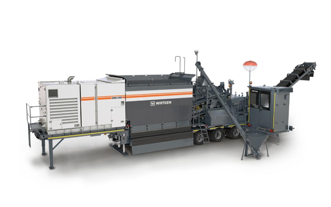 Wirtgen's new KMA 240(i)