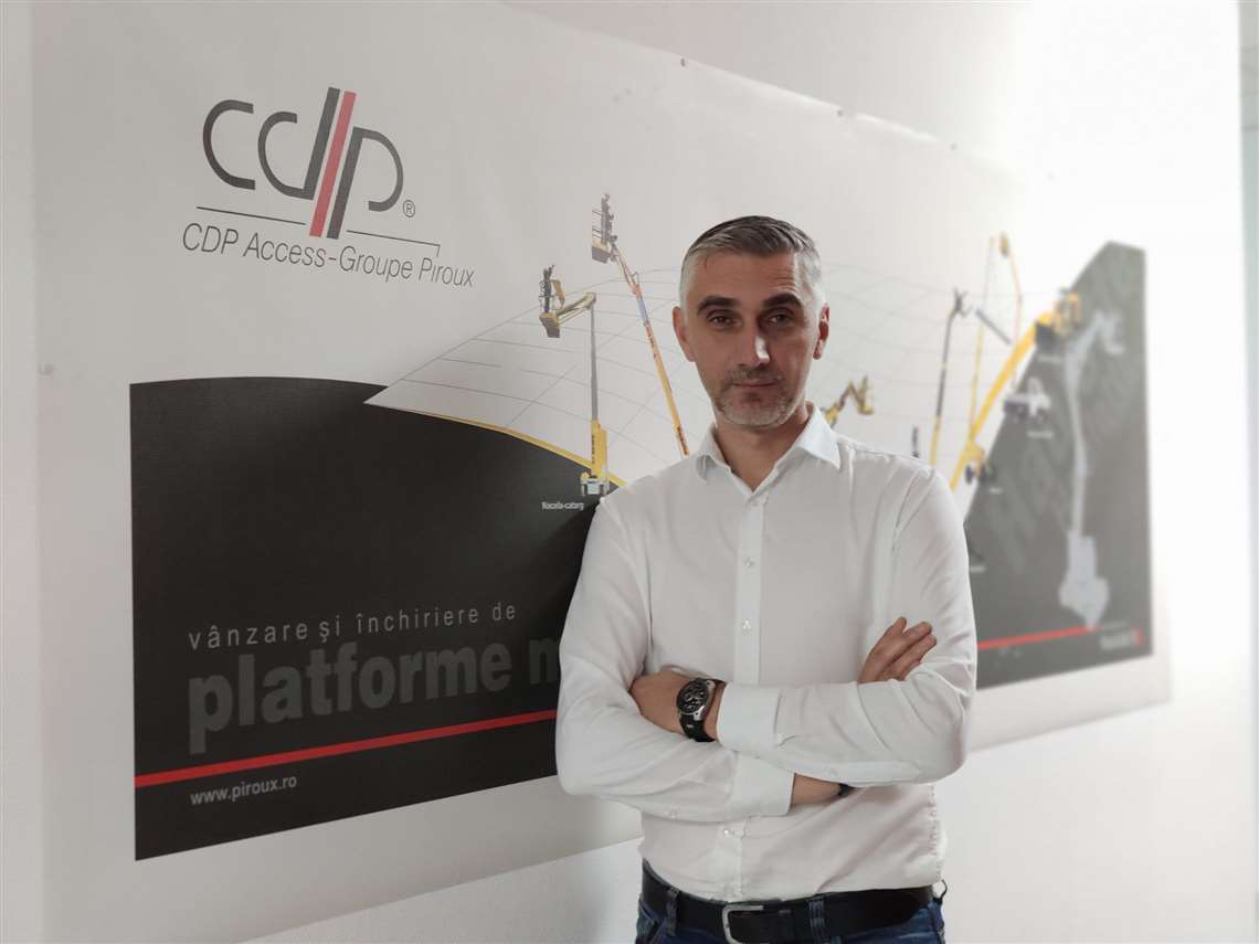 Claudiu Ispas, sales director, CDP Access