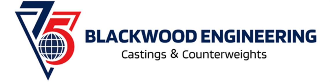 Blackwood Engineering logo