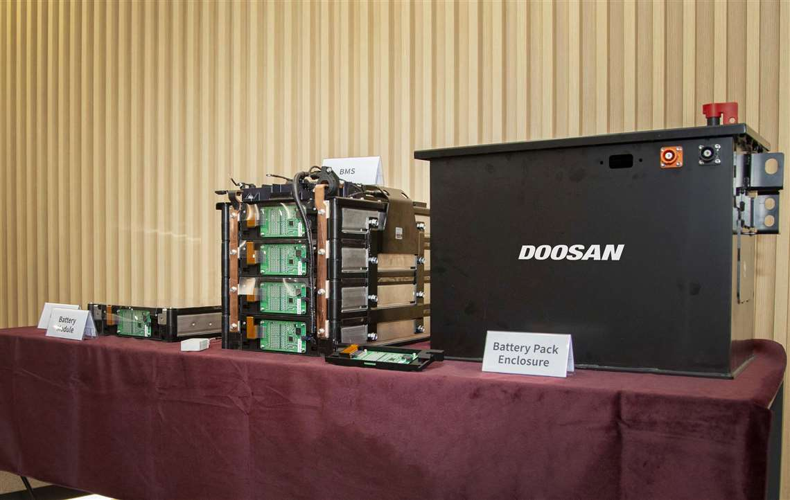 Doosan Infracore battery pack