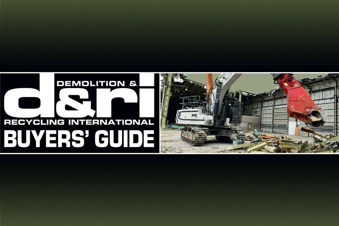 Demolition & Recycling International Buyers Guide