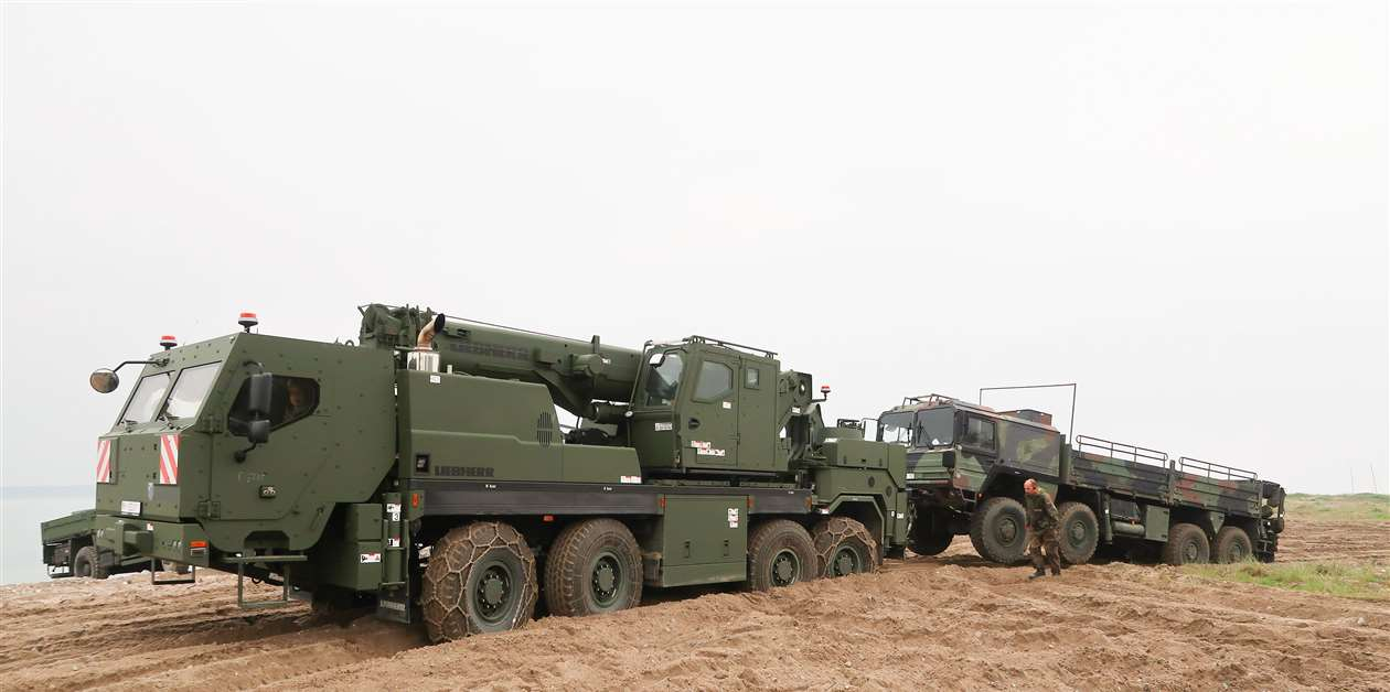 Liebherr delivers for German army