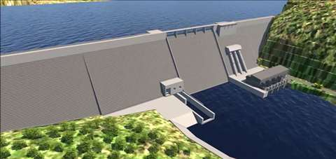 Concept design for the Sambangalou Dam in Senegal