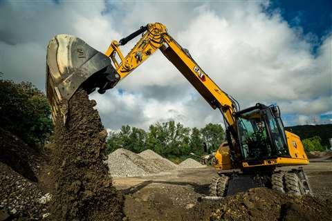 Cat's M316 Next Generation wheeled excavator
