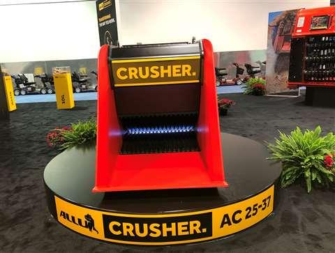 Allu crusher at ConExpo 2020